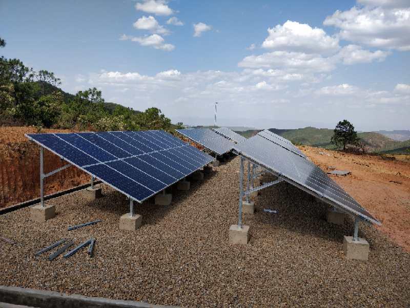 云南某地31.8KWp太阳能光伏提灌系统